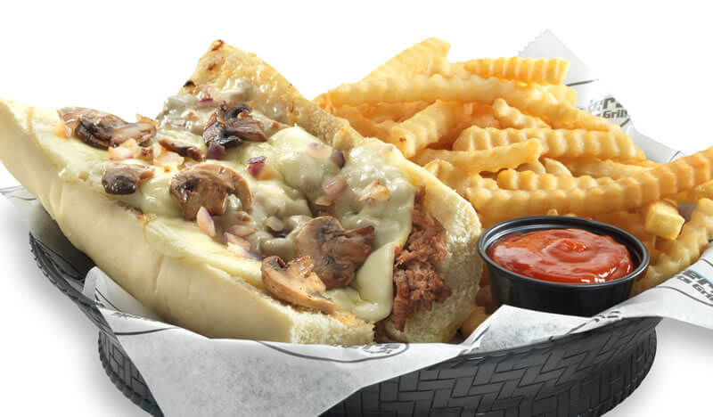 Cincy Philly Cheesesteak